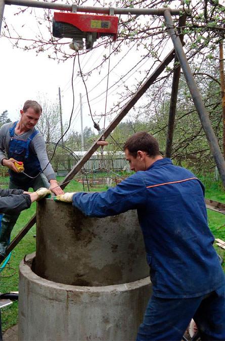 Как мы углубляем колодец в Раменском районе